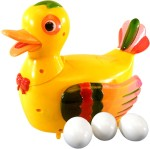 SJ Action Figures SJ Funny Gift Lays Eggs