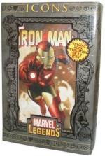 "Marvel Action Figures Marvel Legends Iron Man 12"" Deluxe"