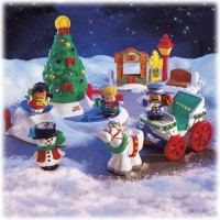 Fisher-Price Little People Tree Lighting In Discovery Park Playset (Multicolor)