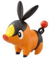 Takara Tomy Pokemon Black And Orange Monster Collection Figure - M-002 - Pokabu/Tepig (Multicolor)