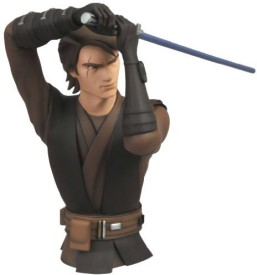 Diamond Select S Star Wars The Clone Wars Anakin Skywalker Vinyl Bust Bank