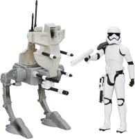 Funskool Star Wars E7 Hero Series Figure & Vehicle - Assault Walker & Storm Trooper (Multicolor)