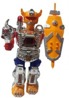 SMT Walking Warrior Robot With LED Lights And Sound Toys (Multicolor)