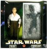 "Star Wars Action Figures Star Wars Kenner Star Wars 12"" Han Solo As Prisoner & Carbonite Block With Frozen Han Solo"