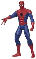 Spider-Man Marvel Ultimate Spider-Man Web Warriors Titan Hero Tech Electronic Spider-Man 12-Inch Figure (Multicolor)