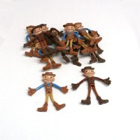 Rhode Island Novelty Bendable Cowboys - 12 Pack (Multicolor)
