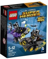 FunSkool Lego Super Hero 76061- Lego Mighty Micros Batman Vs Catwoman (Multicolor)