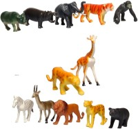 LAVIDI 12 In 1 Animal Set For Kids (Multicolor)