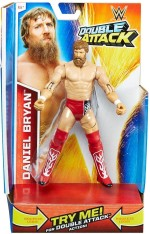 WWE Action Figures WWE WWE Double Attack Daniel Bryan
