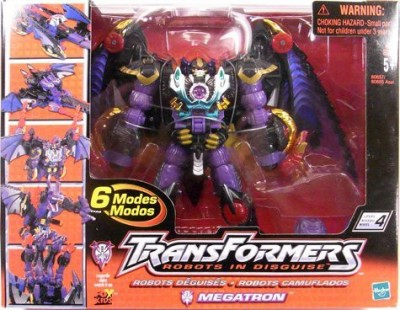 Transformers Action Figures Transformers Robots In Disguise Megatron