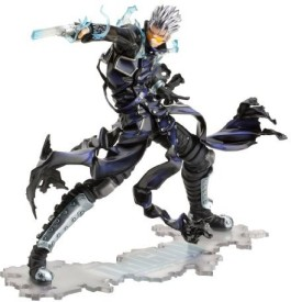 Kotobukiya Trigun Vash The Stampede Gunman In Black Artfxj Statue