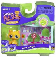 Hasbro Littlest Pet Shop Pet Nook Cat (Multicolor)