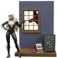 Diamond Select Marvel Select: Black Cat Action Figure (Multicolor)