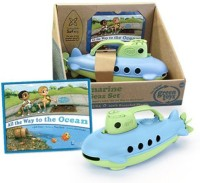 Green Toys Submarine Safe Seas Set, Green/Blue (Green)