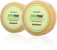 Healthbuddy Zerotox Handmade Shaving Soap Sandalwood 2 Pcs Of 125 Gms Each (250 G)