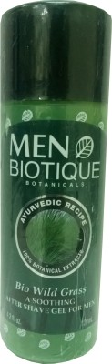 Buy Biotique Bio Wild Grass After Shave Gel: Aftershave Lotion