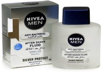 Nivea Silver Protect After Shave Fluid (100 Ml)