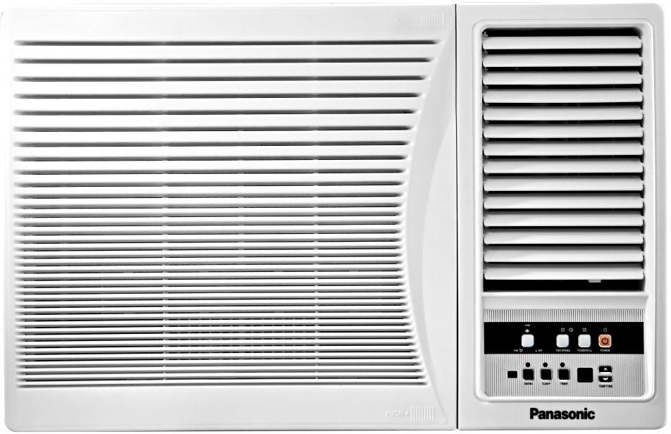 Panasonic 1 ton 2 star window ac white price in india for Window 0 5 ton ac