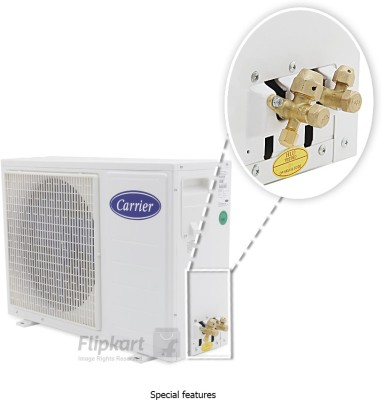 Carrier 1.5 Tons 4 Star Split AC White (18K KURVE)