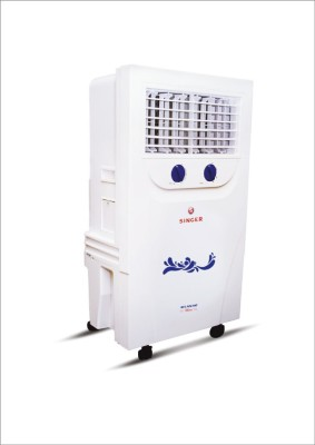 Singer Atlantic Mini Personal Air Cooler (White, 20 Litres)
