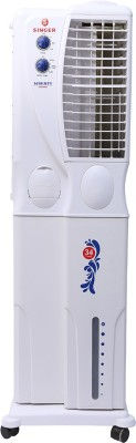 Singer Liberty Senior Tower Air Cooler (white, 34 Litres)