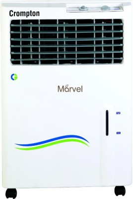 Crompton Greaves ACGC-PAC201 Personal Air Cooler (White, 20 Litres)