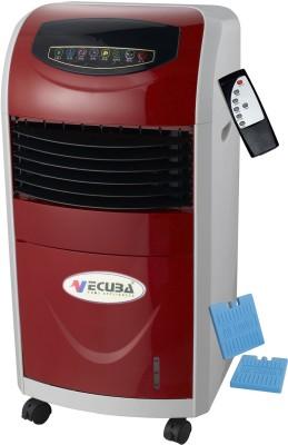 Vecuba Plastic fibre Personal Air Cooler (Red, 8 Litres)
