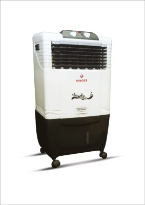 Singer Atlantic Junior Personal Air Cooler (white, Black, 30 Litres)