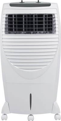 Maharaja Whiteline CO-101 Personal Air Cooler (White and Grey, 20 Litres)