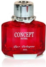 Concept Air Fresheners Concept Car Red Perfume Rose Diffuser Air Freshener