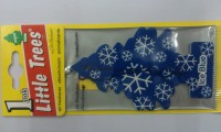 Aiva Little Trees Hanging Ice Blue Paper Air Freshener