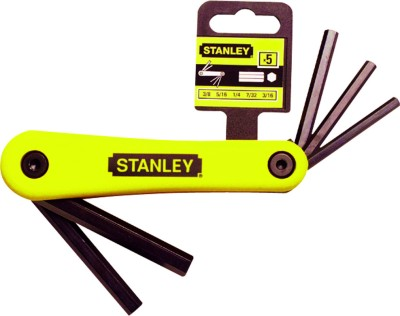 69 261 22 7 Piece Folding Hex Key Set