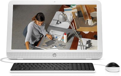 HP All in One 20 e102in (White)