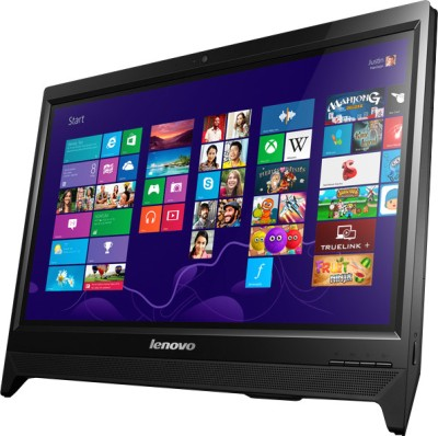 Lenovo C260 All-in-One (1st Gen PQC/ 2GB/ 500GB/ Windows 8.1) (Black)