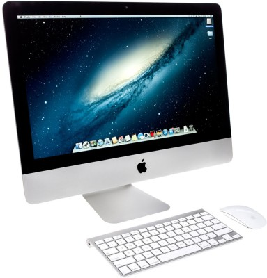 View Apple iMac ME086HN/A All-in-One (Quad Core i5/ 8GB/ 1TB/ OS X Mavericks) Desktop Computer Price Online(Apple)