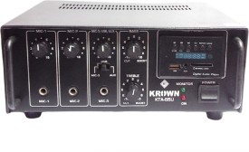 Krown KTA-650-USB Professional Medium Series PA System with Digital Media Player 60 W AV Power Amplifier