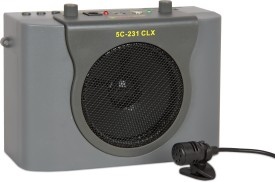 5 Core WPA 231Clx Portable Rechargeable Amplifier With Collar Mic 15 W AV Power Amplifier