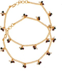 Ratnakar Fashion In New Look Brass Anklet
