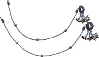 Aman Single Line Munni Payal 1 Silver Anklet (Pack Of 2)