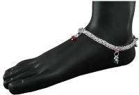 Anuradha Art Unique In Designer Metal Anklet Pack Of 2