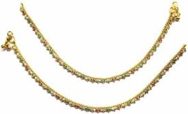 Jewelshingar Premium Payal Brass Anklet