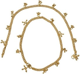 Nisa Pearls & Jewellery Princess Delight Copper Anklet