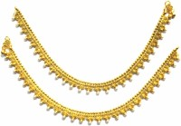 Jewelshingar Traditional Payal Brass Anklet Pack Of 2