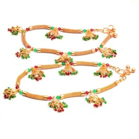 Reva Indian Traditional Payal Alloy Anklet