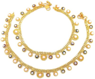 Jewar Mandi Latest Jewellery Alloy Anklet