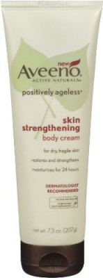 Aveeno Anti Ageing Aveeno Positively Ageless Skin Strengthening Body Cream