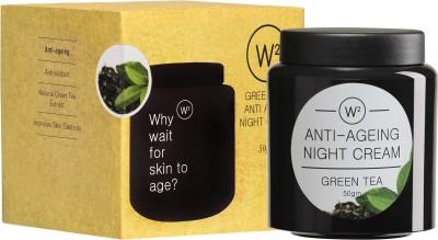 W2 Green Tea Anti-Ageing Night Cream (50 Ml)