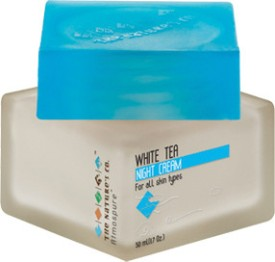 The Nature's Co White Tea Night Cream - 50 Ml