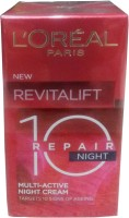 Loreal Paris Revitalift 10 Repair Multi Active Night Cream (50 Ml)