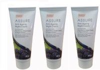 Assure Anti Ageing Night Cream (Pack Of 3) (180 G)